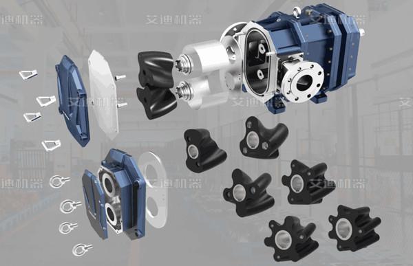 弹性螺旋凸轮泵-是一种国内创新型容积泵产品,可完全替代金属凸轮泵