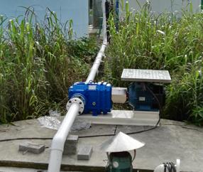 粪便输送工程案例:化粪池排污泵